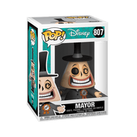 PREORDER - The Nightmare Before Christmas Mayor with Megaphone Pop! Vinyl Figure - Chase Bundle Case