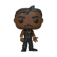 Tupac Vest with Bandana Pop! Vinyl Figure