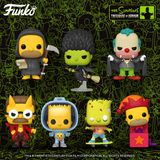 The Simpsons Treehouse of Horror Funko Pops