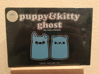Puppy & Kitty Ghost - Blue Glow