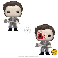 American Psycho Patrick with Axe Pop! Vinyl Figure Chase Bundle