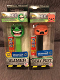 Walmart GITD Slimer or Angry Stay Puft Pop Pez