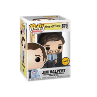 The Office Jim Halpert (Common + Chase Bundle) Funko Pop