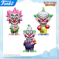 Killer Klowns from Outer Space Funko Pop Set