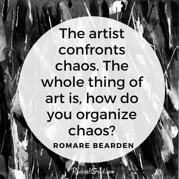 Quote from Artist Romare Bearden