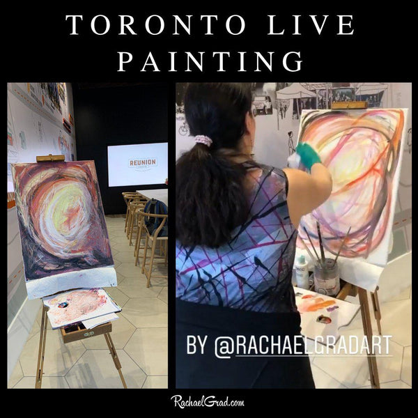 Toronto Live Painting at Stockyards Village