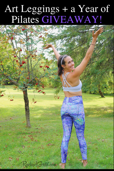 Win a Pair of Art Leggings and a Full Year of Pilates on Demand