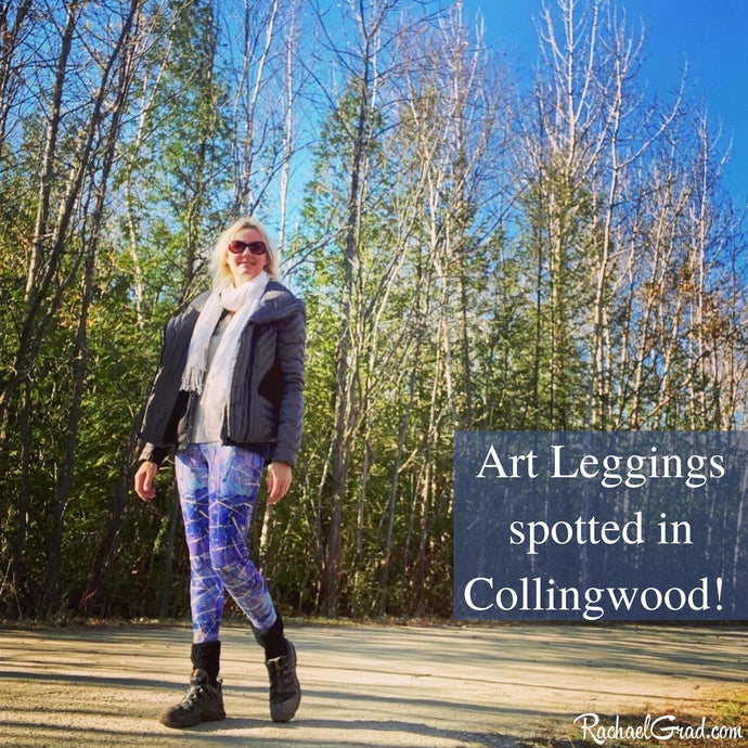 Art Leggings Spotted in Collingwood, Ontario...
