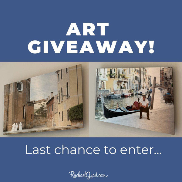 Last Chance to Enter my Artwork Giveaway