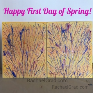 Paintings Celebrating the First Day of Spring
