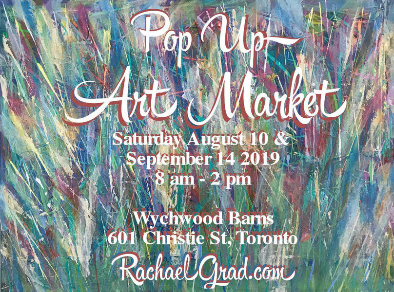 Pop-Up Art Markets in August & September