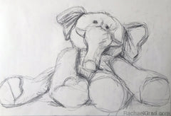 Two Toy Elephant Drawings Sold to a Loving Family in Viriginia