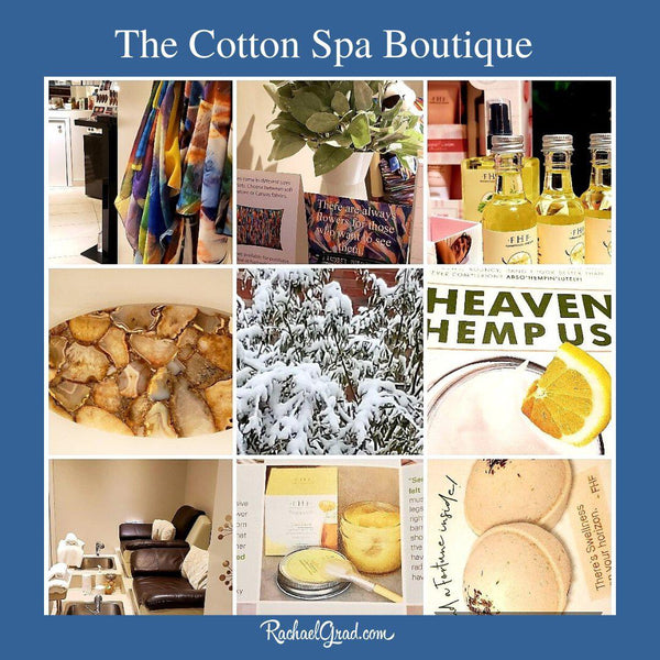 Art & Gifts Now Carried by The Cotton Spa Boutique