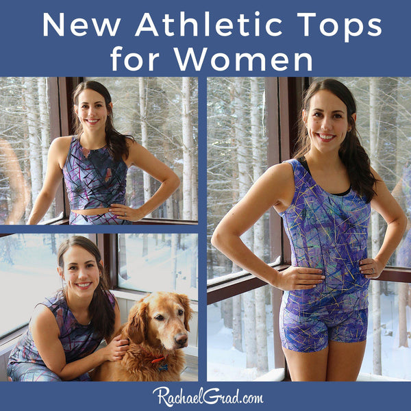 New Athletic Tops for Women