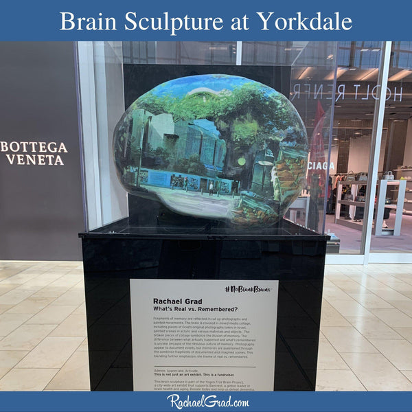 Brain Sculpture Now on View at Yorkdale Shopping Centre