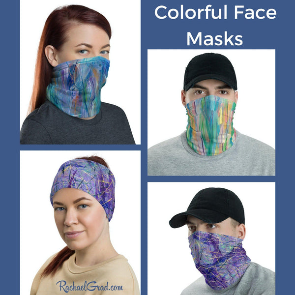 New Colorful Face Masks