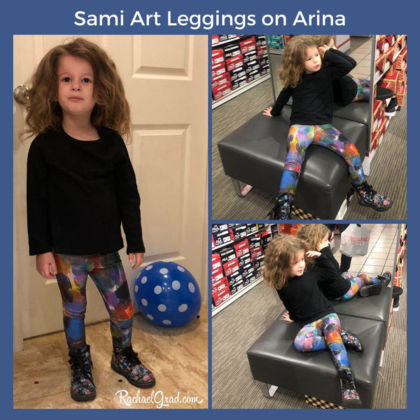 Sami Leggings Seen in Williamsburg, NY