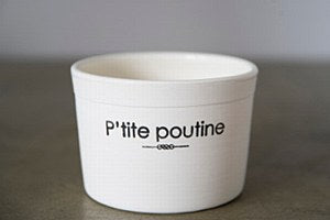 Handmande P'tite Poutine Porcelain Bowl by Hugo Didier from the AGO Canada Day gift guide hostess Rachael Grad Fine Art