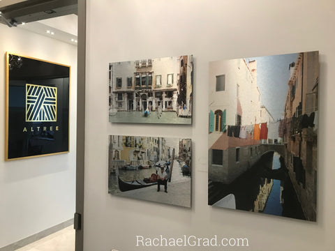 2019-03-27 art blog 3 prints together venice italy print rachael grad artist Altree Developments Adds 5 Limited Edition Art Prints to Its Corporate Collection