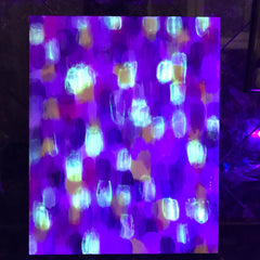 2019-04-01 glow in the dark art day and night rachael grad artist acrylic painting original artwork