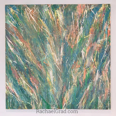 Pastel Paintings For A Happy Easter artist rachael grad original artwork abstract flower painting