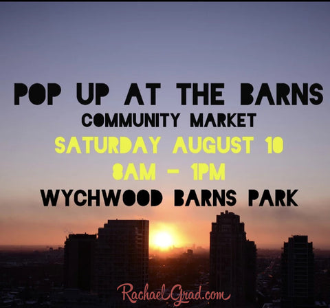 Pop Up Art Market This Weekend at Wychwood Barns Rachael Grad Art