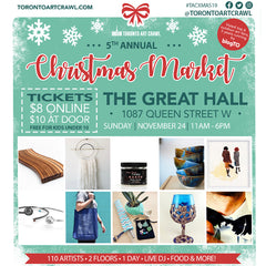 Two Upcoming Holiday Markets in Toronto with Artist Rachael Grad