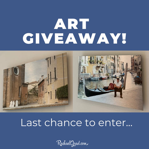 Last Chance to Enter Artwork Giveaway by Toronto Artist Rachael Grad