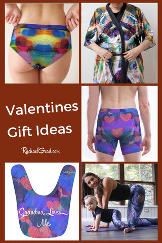 Valentine's Gifts for all your Valentines by Toronto Artist Rachael Grad
