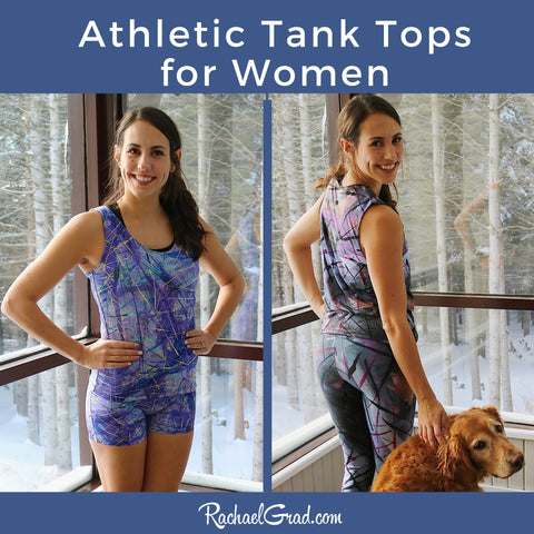 Tank Tops for Women by Toronto Artist Rachael Grad