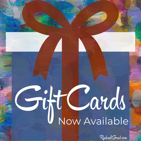 Shop Online for Original Art and Gift Cards from Local Toronto Artist Rachael Grad