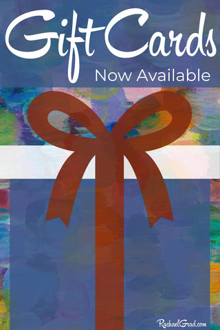 gift cards for art and gifts by Toronto Artist Rachael Grad