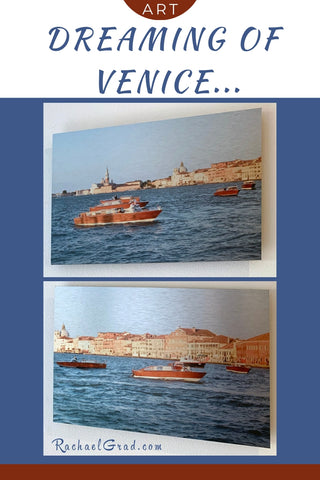 Dreaming of Venice Italy Redentore art prints by Toronto artist Rachael Grad