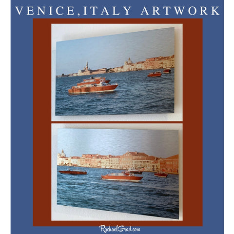 Italy Series Artwork of Redentore Festival in Venice by Artist Rachael Grad