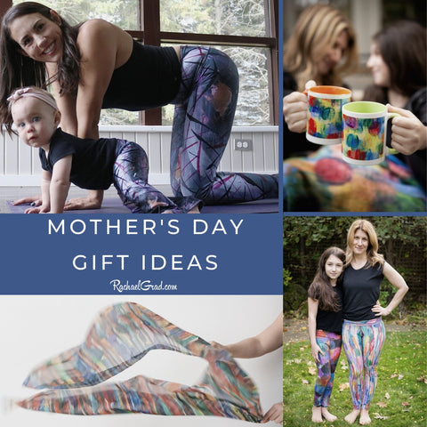 Mother's Day Gift Ideas for moms and grandmothers by Toronto Artist Rachael Grad