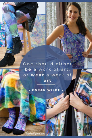 'One Should Be a Work of Art or Wear a Work of Art'  quote by Oscar Wilde
