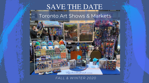 Fall & Winter 2020 Toronto Art Shows with Artist Rachael Grad