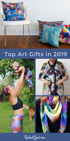 2019 Year in Review: New Art & Gifts by Toronto Artist Rachael Grad