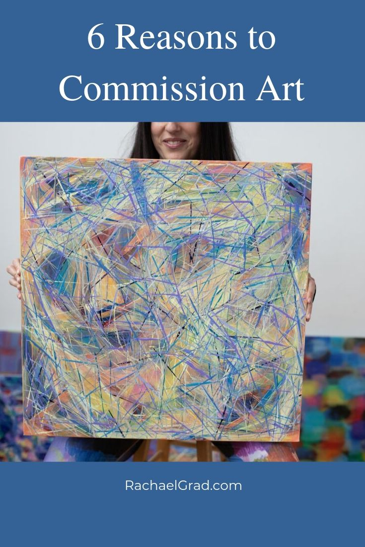 6 Reasons to Commission Original Art by Artist Rachael Grad