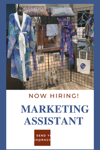 Hiring a marketing assistant for Toronto artist
