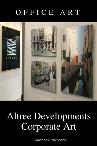 Altree Developments Corporate Art Collection Artwork by Artist Rachael Grad office artwork