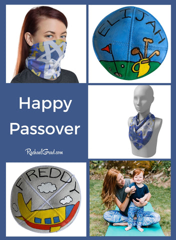 Happy Passover Gifts by Canadian Artist Rachael Grad