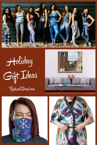 Holiday Gift Ideas by Canadian Artist Rachael Grad 2020