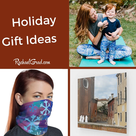 Holiday Gift Ideas by Canadian Artist Rachael Grad for 2020