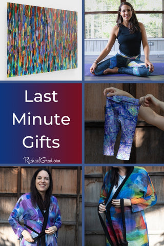 Last Minute Holiday Gifts from Artist Rachael Grad