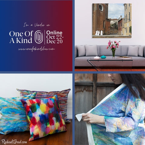 Shopping Local with Toronto Artist Rachael Grad at the One of a Kind Online Show 2020