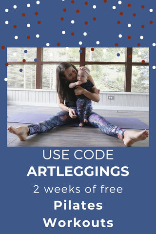free pilates workouts online with code artleggings