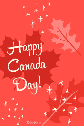 Happy Canada Day from Canadian Artist Rachael Grad