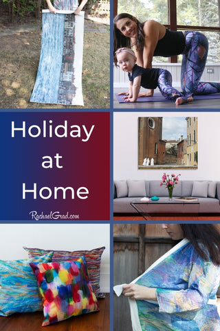 Happy Holidays at Home from Toronto Artist Rachael Grad