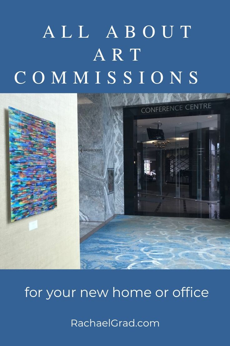 all about art commissions for your new home or office by artist rachael grad